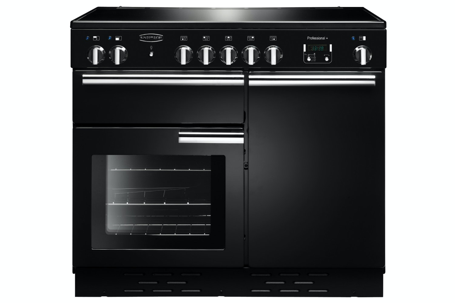 Rangemaster Pro Plus 100cm Electric Range Cooker | PROP100EIGB/C | Black