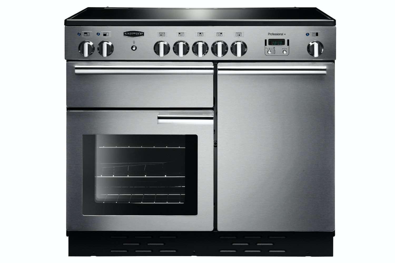 Rangemaster Pro Plus 100cm Induction Range Cooker | PROP100EISS/C | Stainless Steel