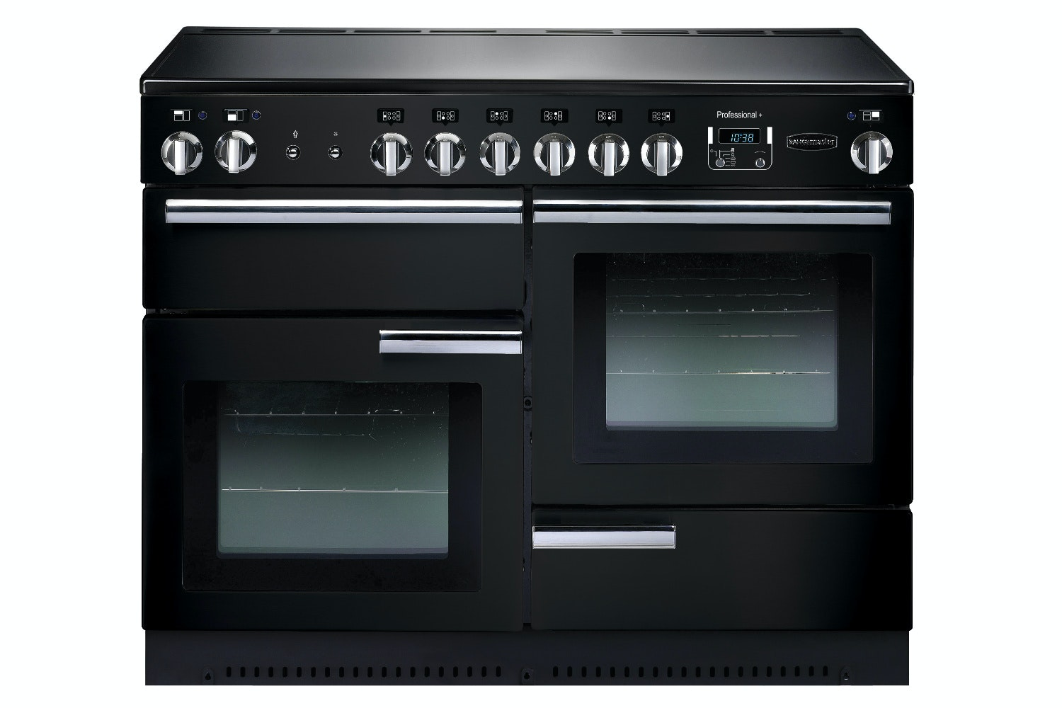 Rangemaster Pro Plus 110cm Electric Range Cooker | PROP110ECGB/C | Black