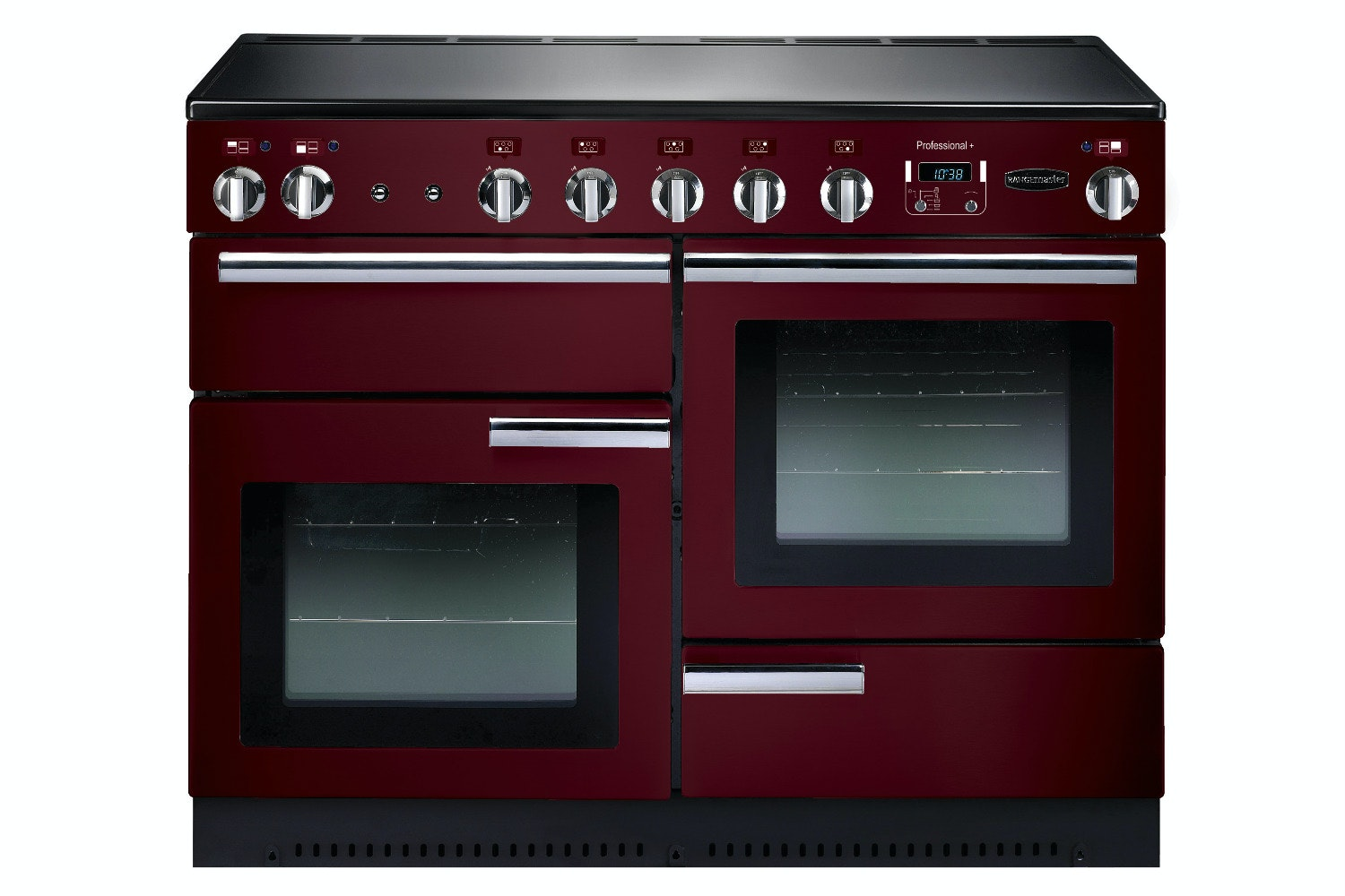 rangemaster 110 cm induction range cooker cranberry red PROP110EICY/C