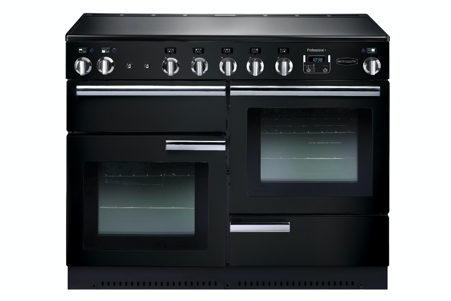 rangemaster 110cm induction range cooker gloss black prop110eigb/c