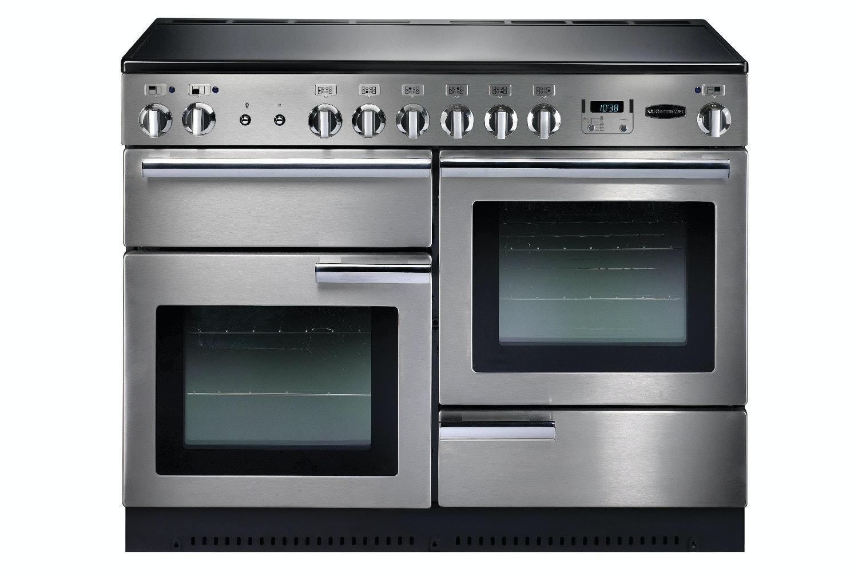 rangemaster pro plus 110cm ceramic range cooker stainless steel
