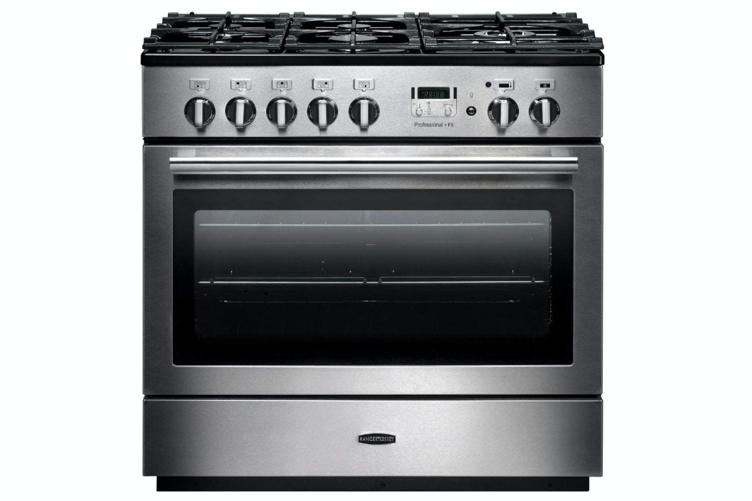 Rangemaster Pro Plus FX 90cm Dual Fuel Range Cooker | PROP90FXDFFSS/C | Stainless Steel