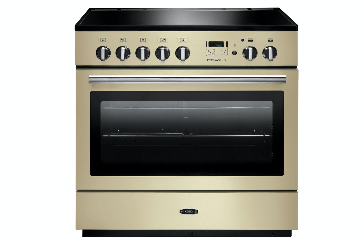 Rangemaster Pro Plus FX 90cm Electric Range Cooker | PROP90FXEICR/C | Cream