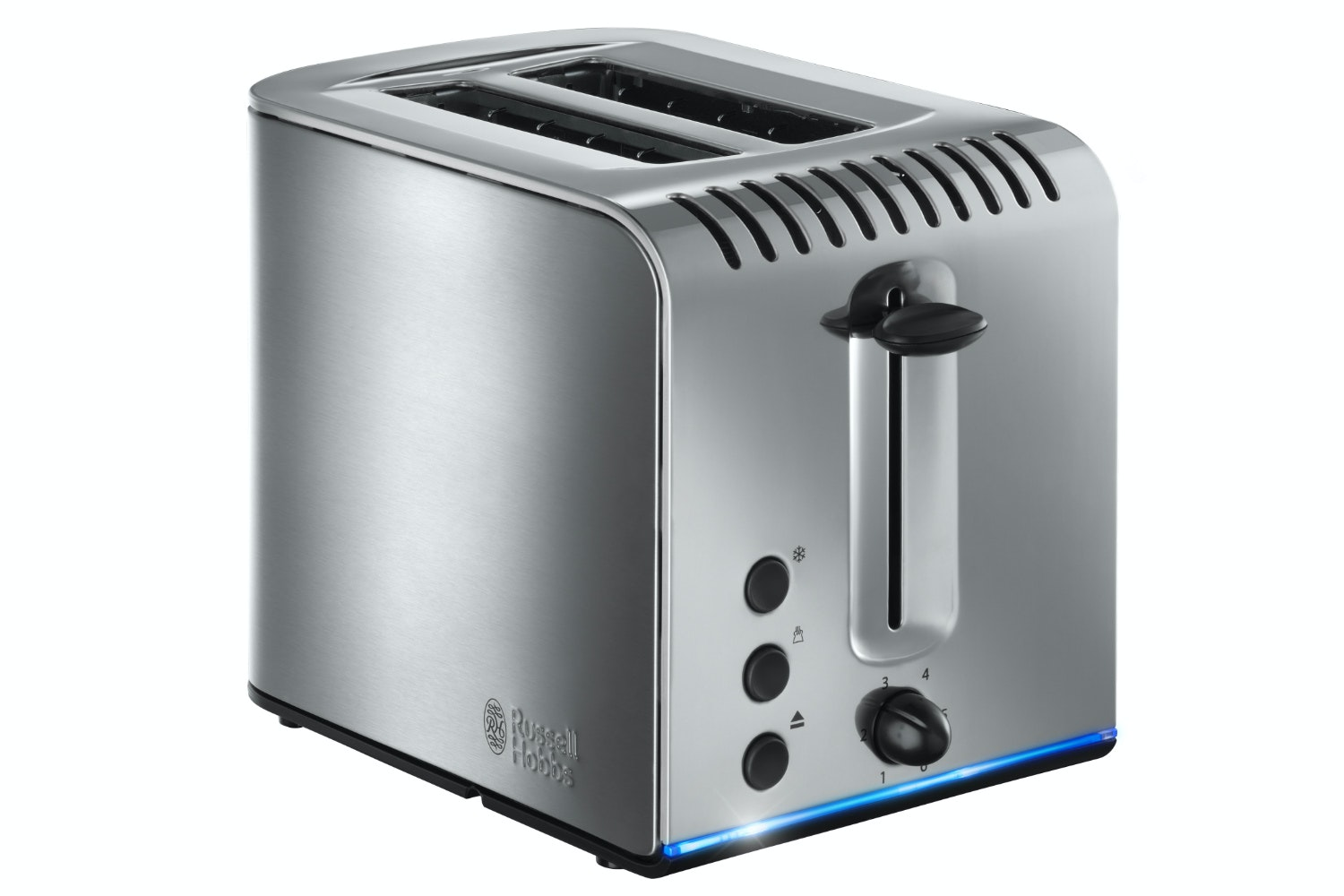 Russell Hobbs Buckingham 2 Slice Toaster | 20740 | Stainless Steel