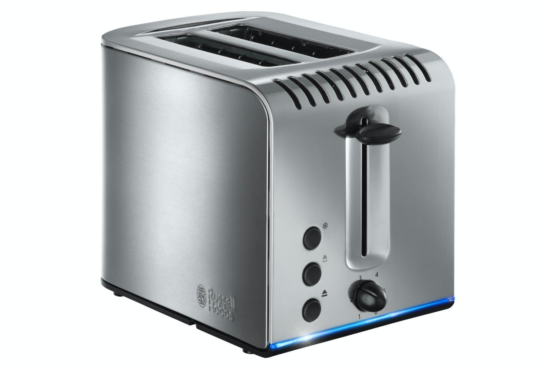 Russell Hobbs Buckingham 2 Slice Toaster | 20740 | Stainless Steel
