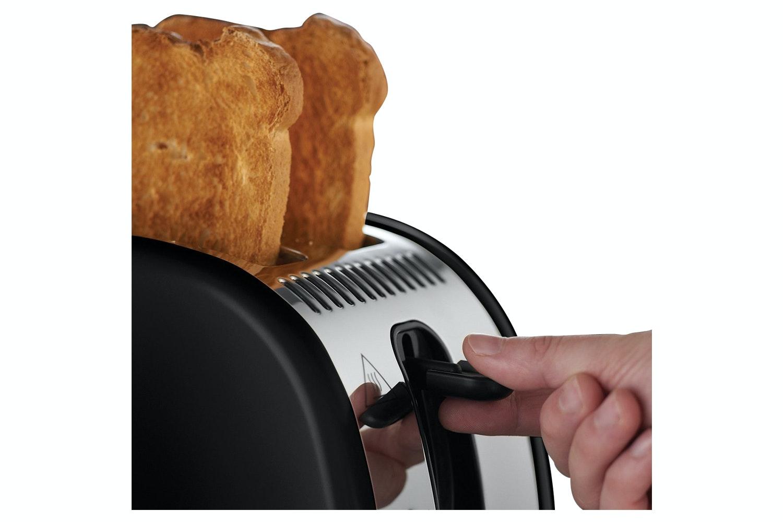 Russell Hobbs Legacy Black 2 Slice Toaster