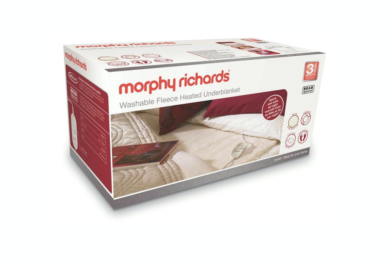 Morphy Richards King Washable Fleece Heated Underblanket 600004