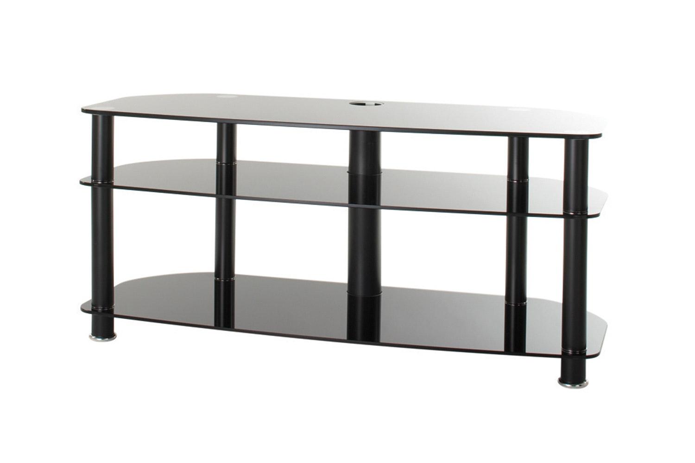 Alphason Essential 3 Tier Glass Tv Stand Ess10003blk Ireland