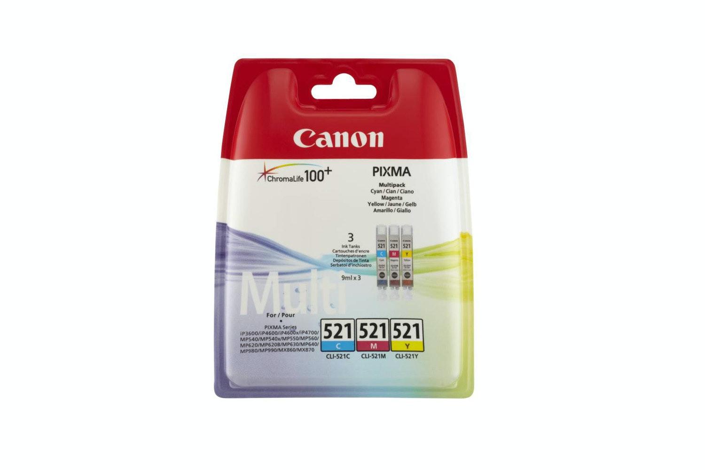 Canon Ink   CLI-521 C/M/Y
