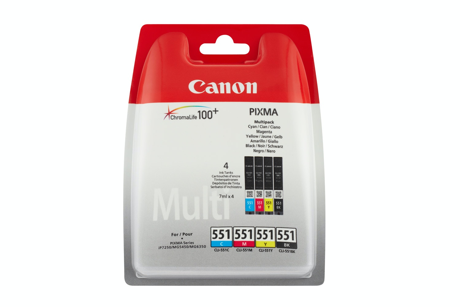 Canon Multipack Ink | CLI-551