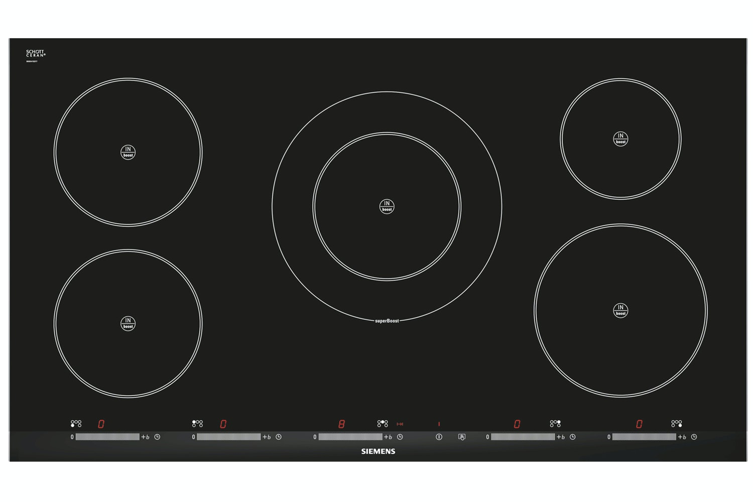 Siemens 5-Ring Induction Hob  EH975SK11E