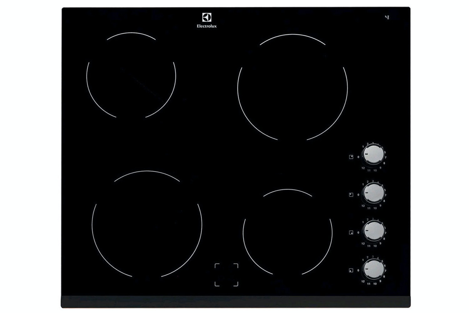 Electrolux Built In 4 zone Ceramic Hob 60cm | EHF6140FOK