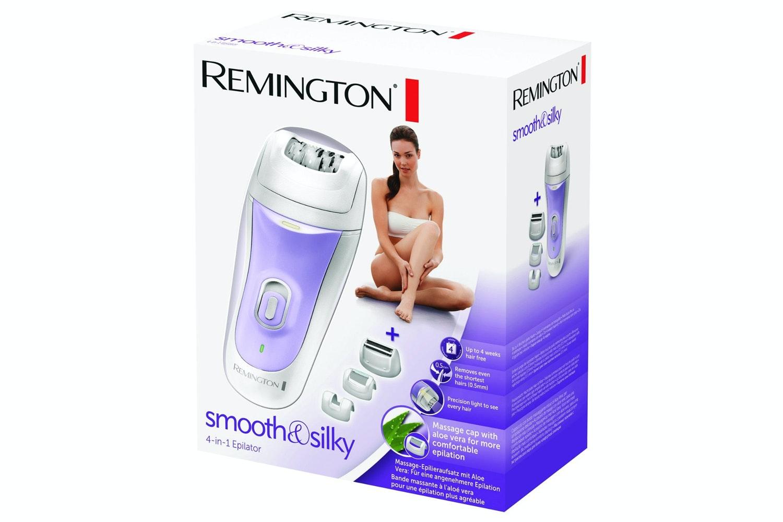Remington Smooth & Silky 4 in 1 Epilator