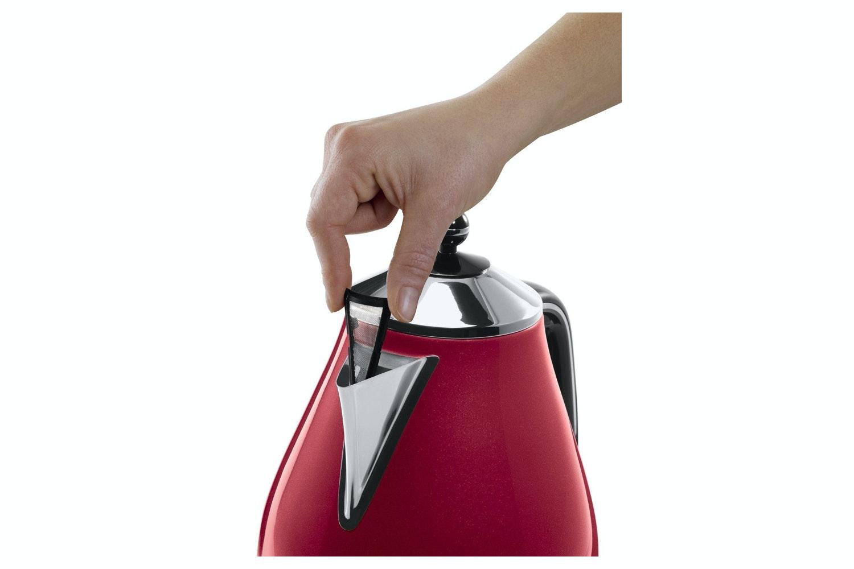 DeLonghi Micalite 1.7L Kettle | Red