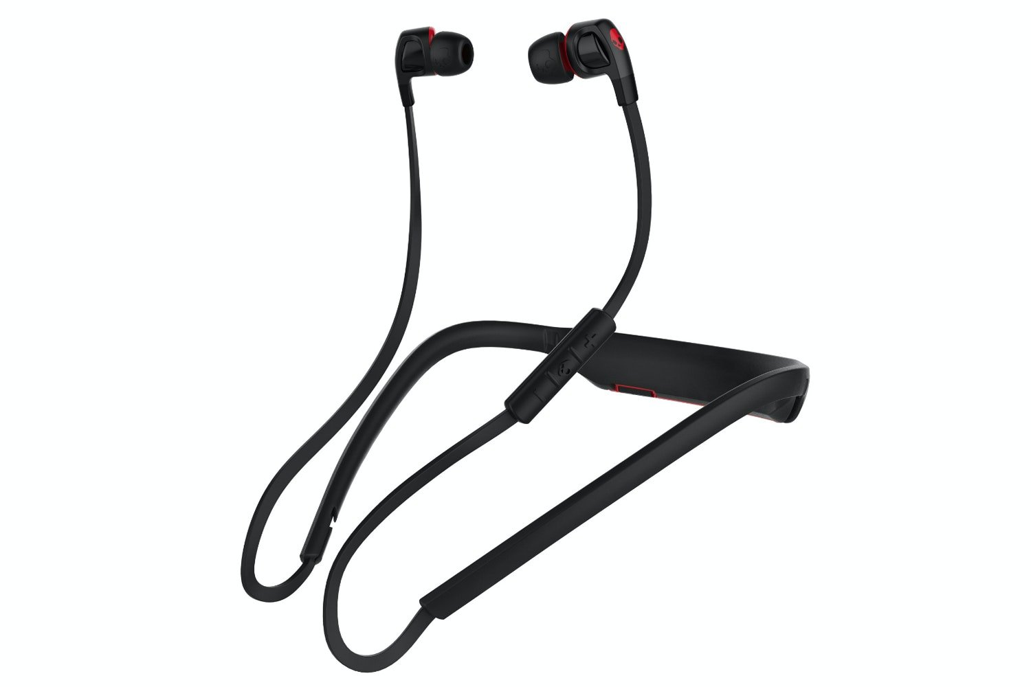 Skullcandy Smokin' Buds 2 Wireless Earphones | Black & Red