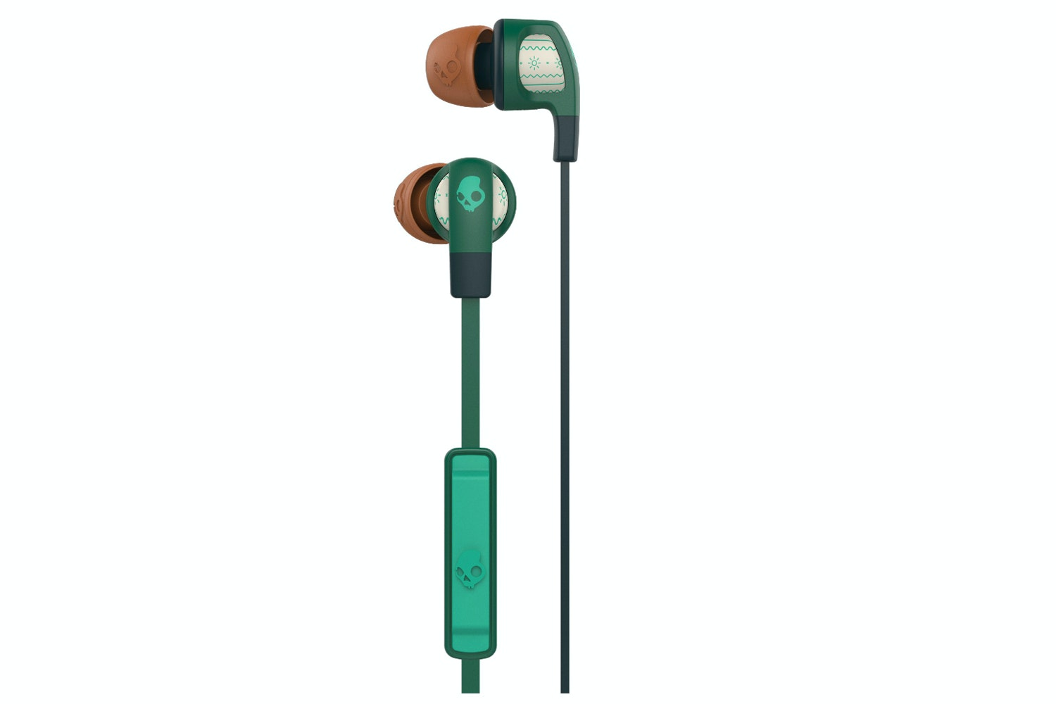Skullcandy Smokin' Buds Earphones | Green