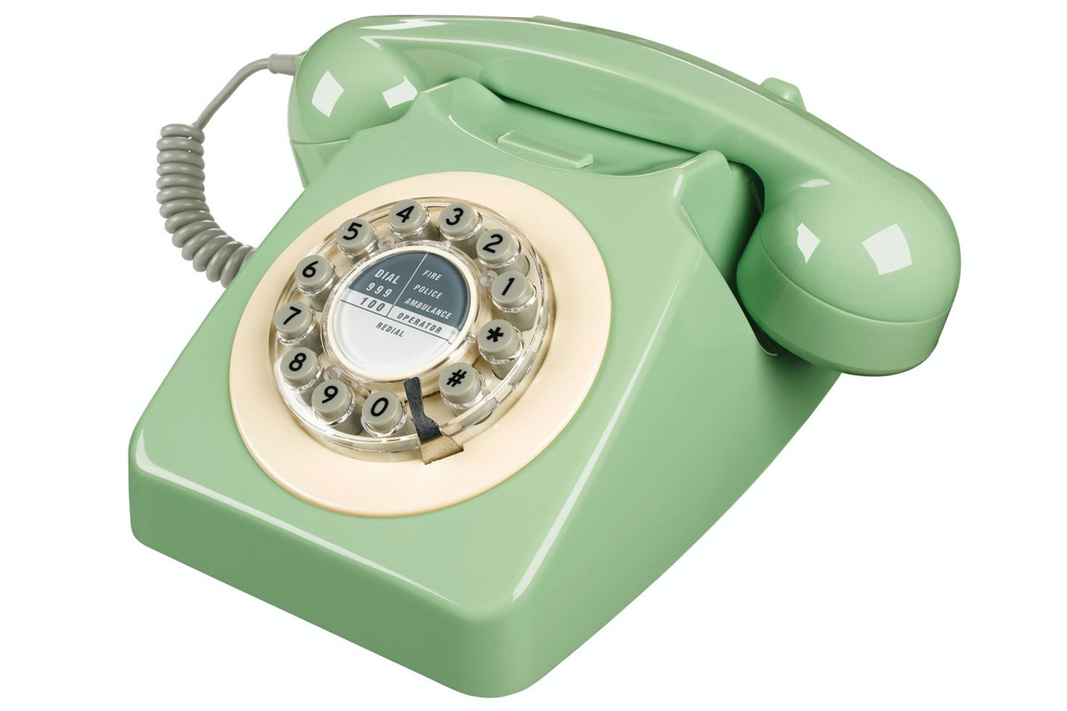 747 Swedish Green Retro Telephone