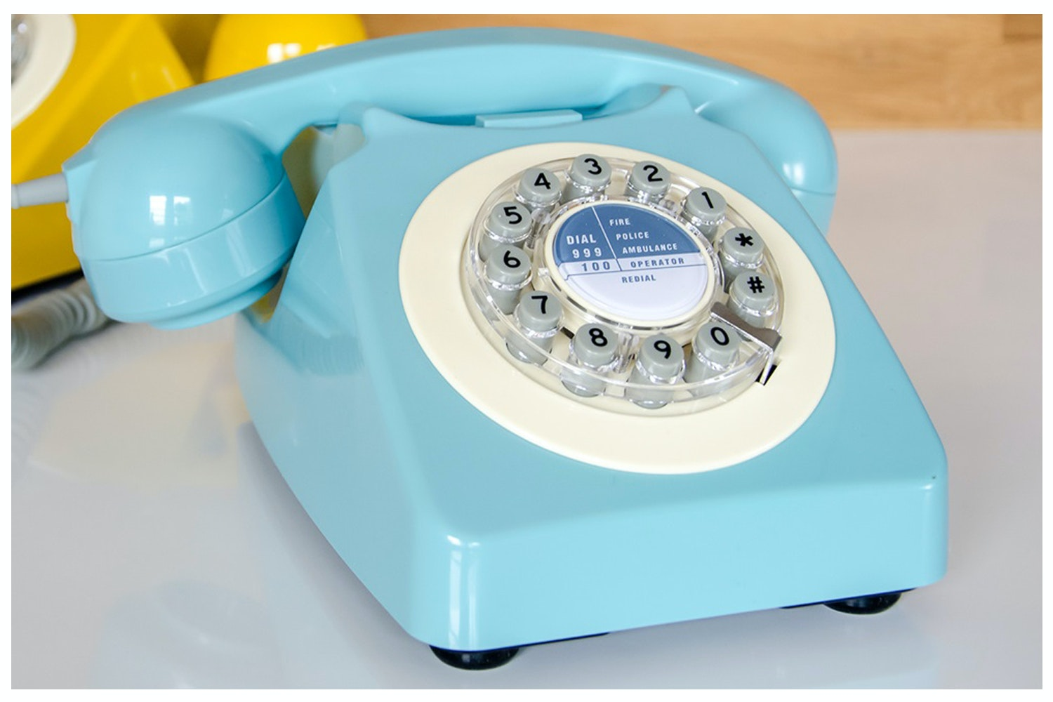 746 French Blue RetroTelephone