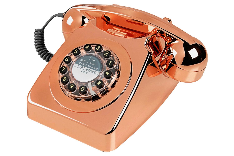 Retro Copper Phone