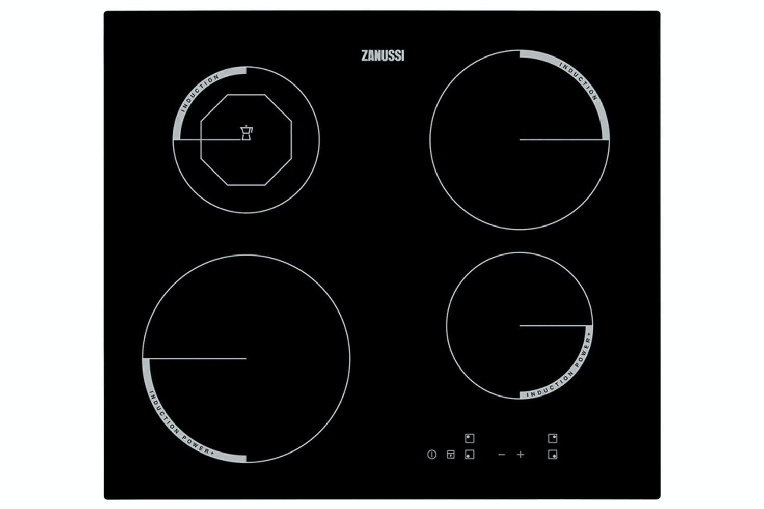 Zanussi 4 Zone Induction Hob | ZEI6840FBV