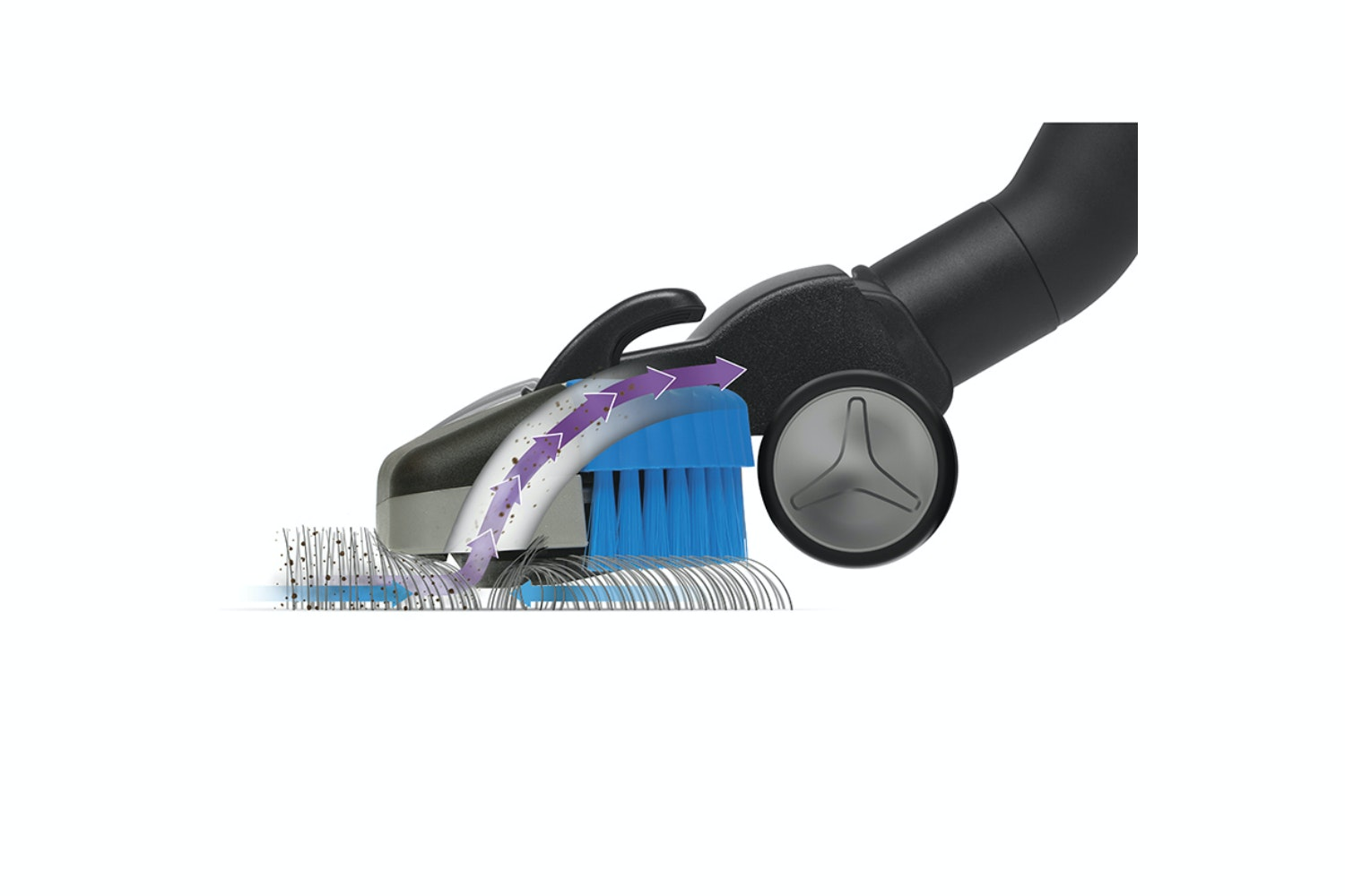 Philips Performer Active Vacuum Cleaner tri active + nozzle head