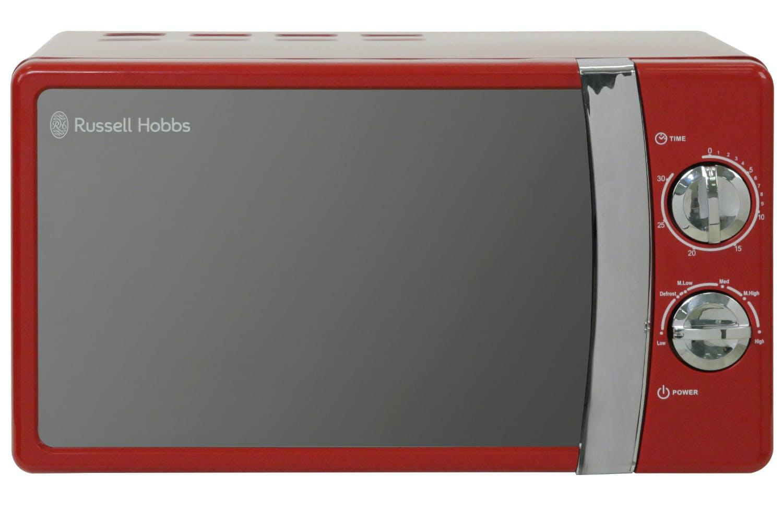 Russel Hobbs Red Compact Manual Microwave Rhmm701r