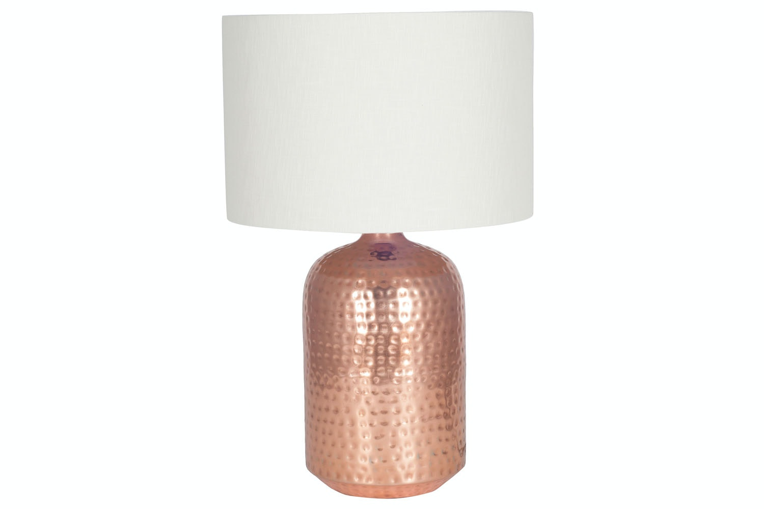 Copper Hammered Table Lamp