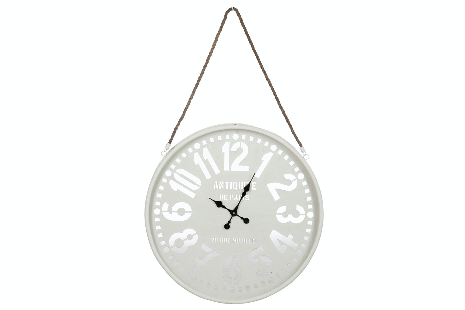 Clock with Hanging Rope