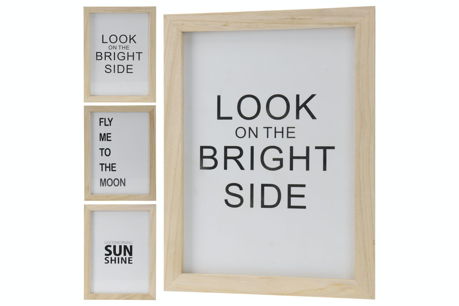 Photo Frame with Text 28x28x38