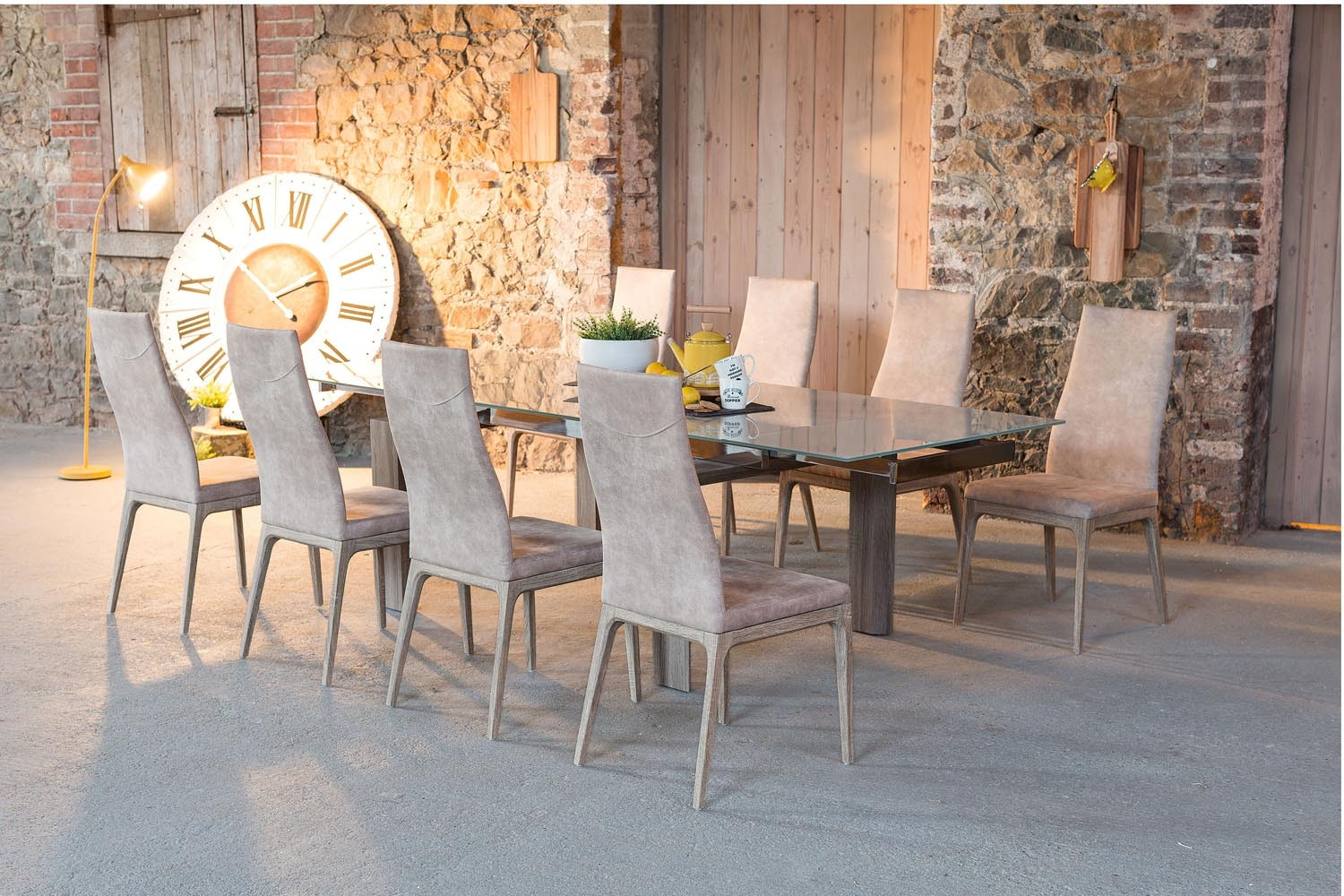 Alexis 9-Piece Dining Set | Light