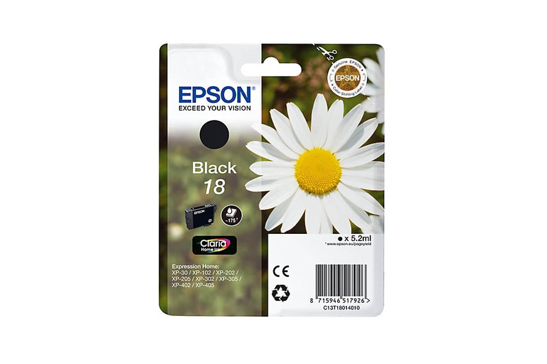Epson C13 Black Ink | T18014010