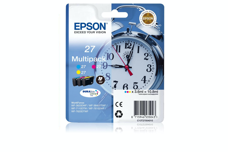 Epson C13 27XL C/Y/M | T27154010