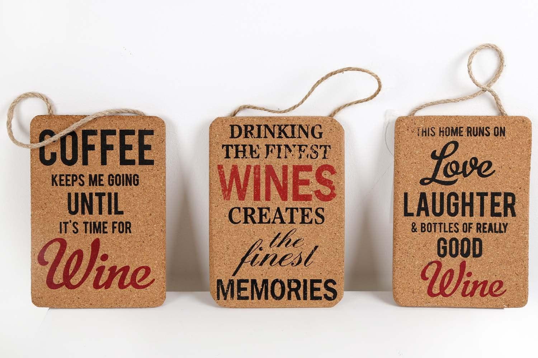 Cork Wine Plaques