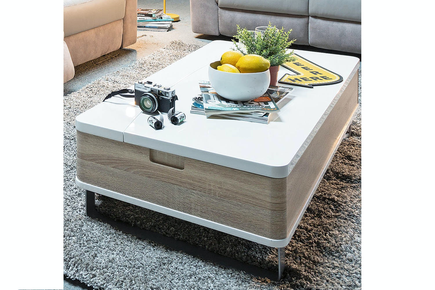 Lennox Lift Top Coffee Table