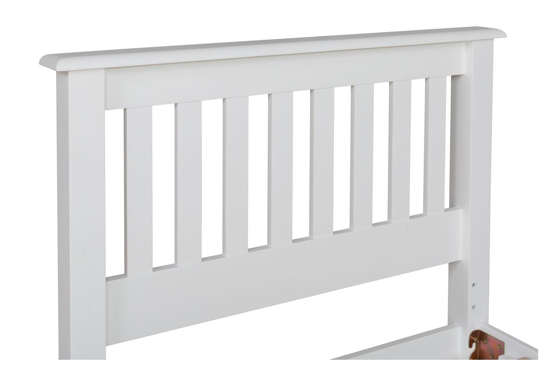 Shaker Single Bed Frame | 3ft | White