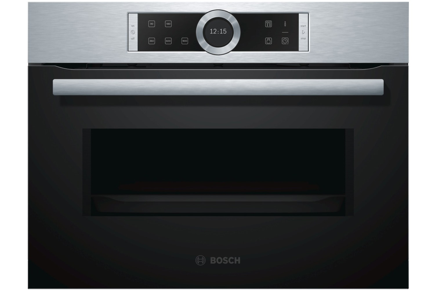 Bosch Series 8 Compact Oven with Microwave | CMG656BS6B