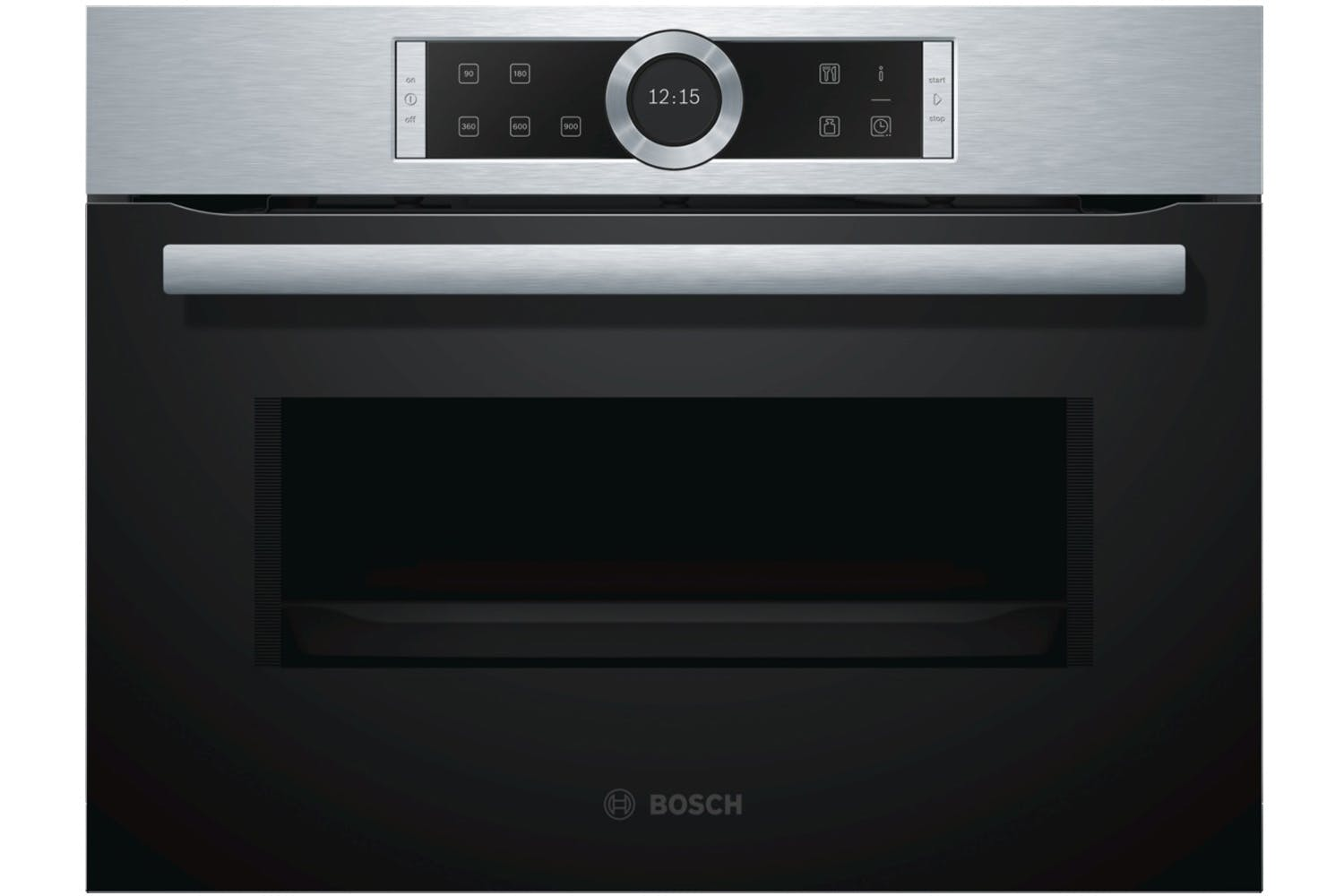 bosch series 8 compact oven with microwave cmg656bs6b. Black Bedroom Furniture Sets. Home Design Ideas