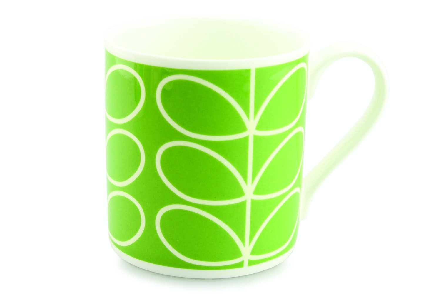 Orla Kiely Large Green Stem Mug