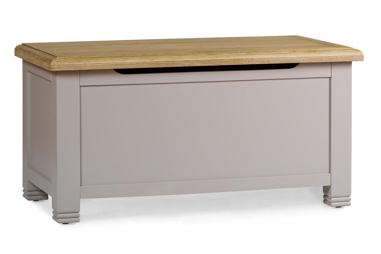 Lancaster Blanket Box | French Grey