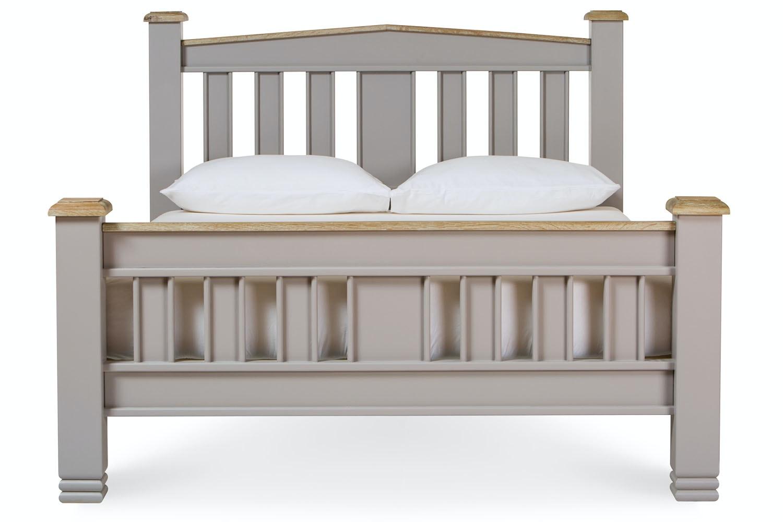 Lancaster French Grey Bed Frame | 4ft6