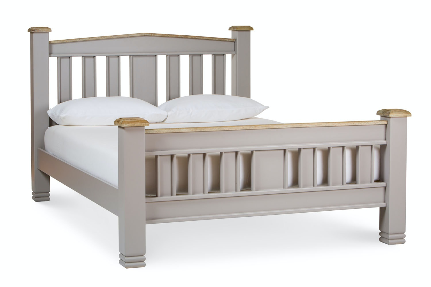 Lancaster French Grey Bed Frame | 6ft