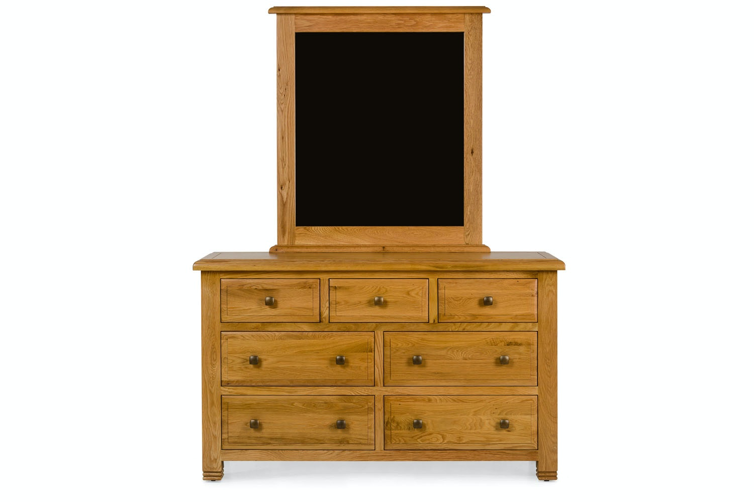 Lancaster 3+4 Drawer Chest | Natural Oak