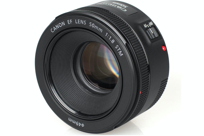 Canon EF-S 50mm 1.8 STM Lens