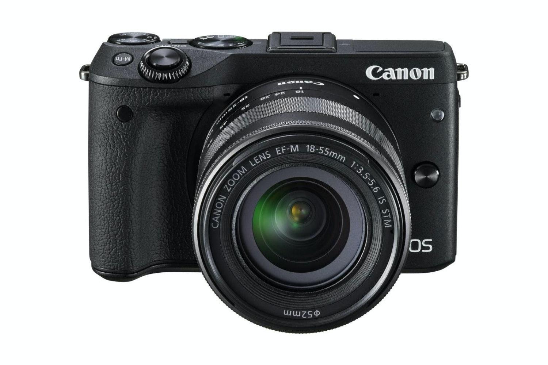 Canon EOS M3 & EF-M 18-55mm Lens