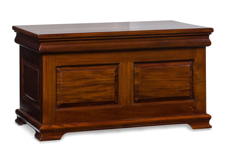 Heritage Mahogany Blanket Box