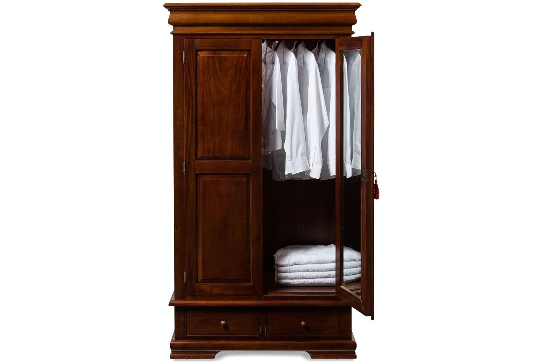 Heritage Mahogany Wardrobe
