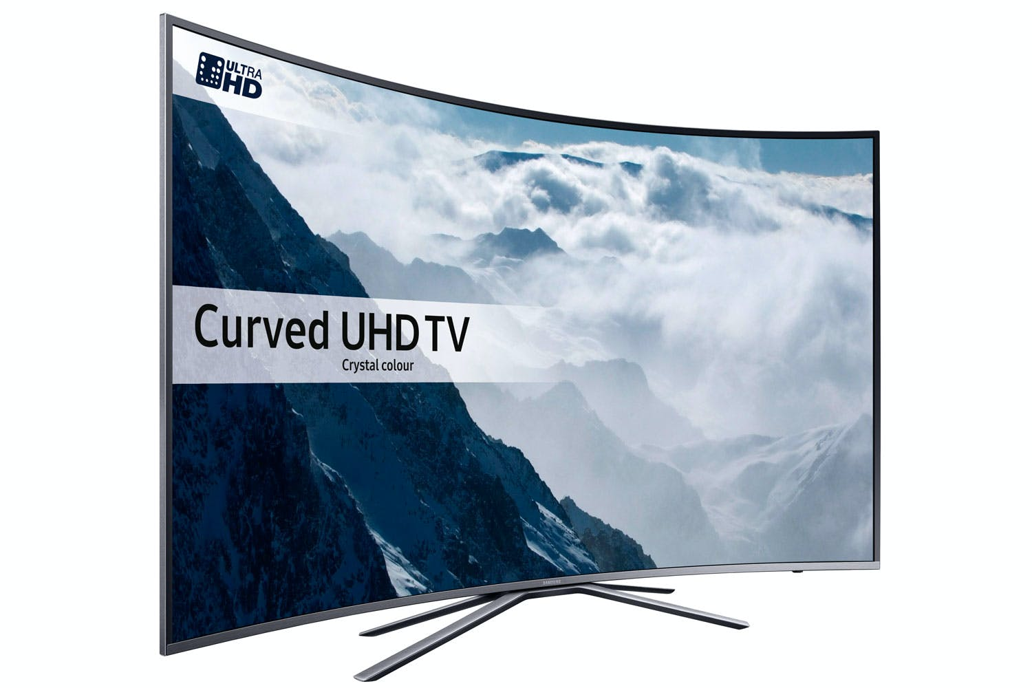 "Samsung 43"" Curved UHD Smart LED TV 