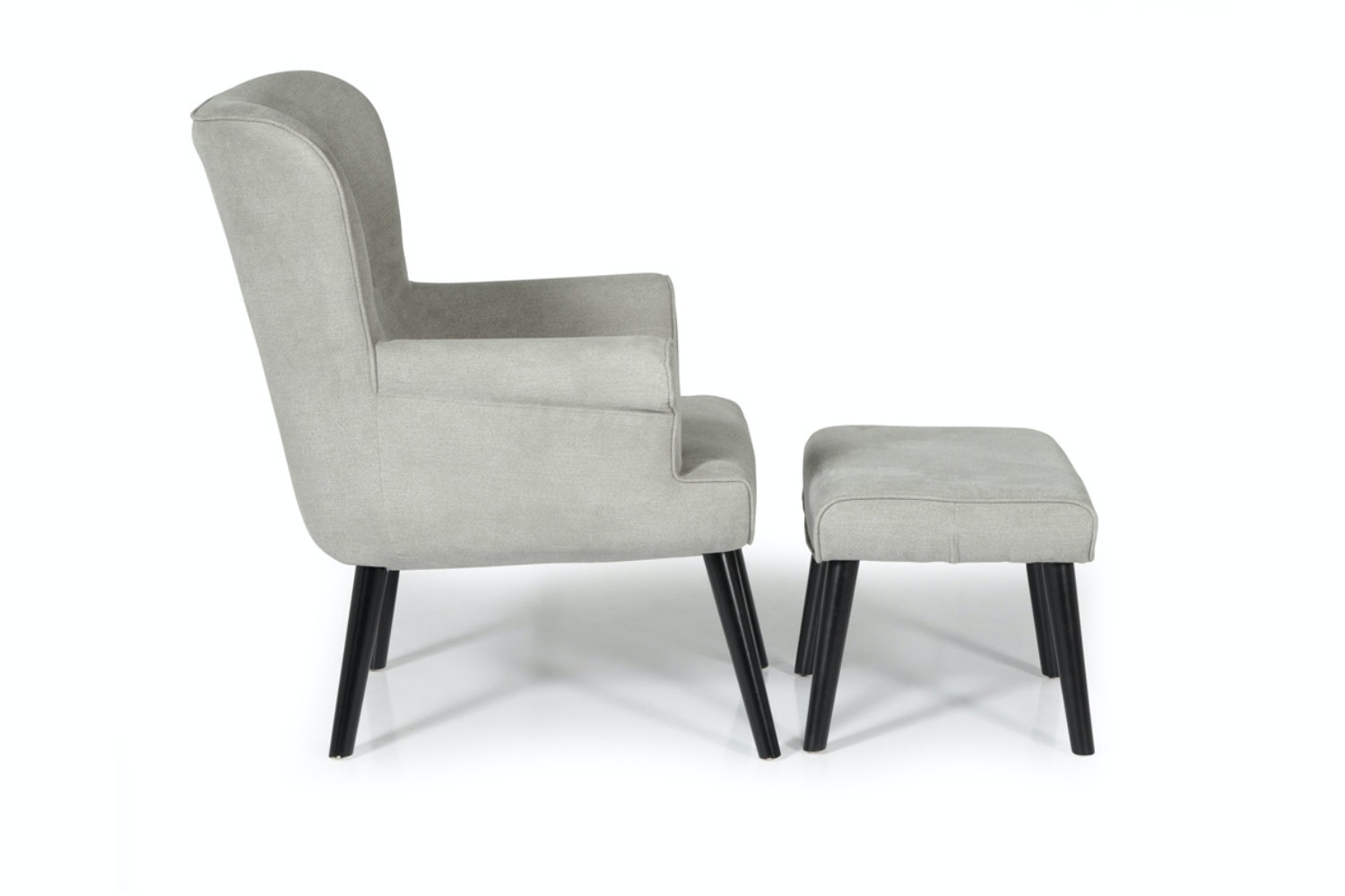Arianna Bedroom Armchair | Grey