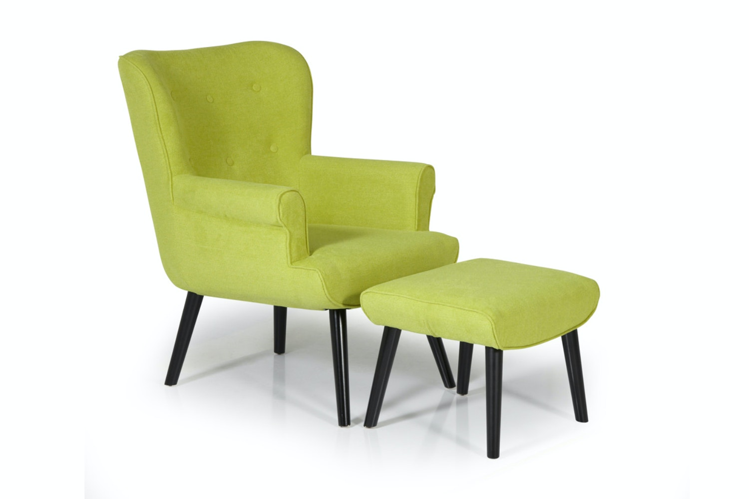 Arianna Bedroom Armchair | Green